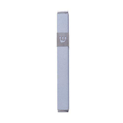 Mezuzah Shin Light Blue