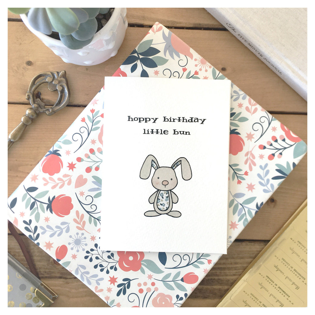 Card, Happy Birthday little Bun