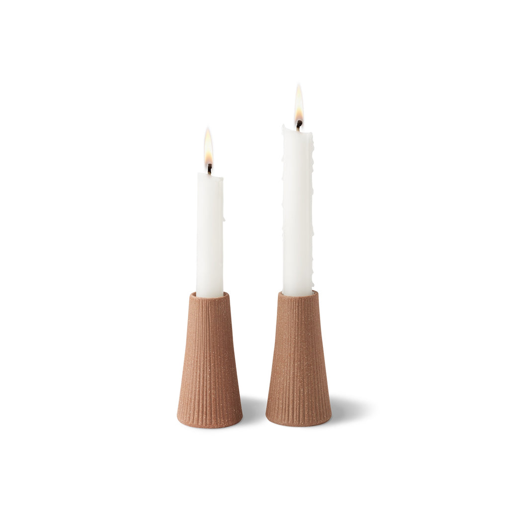 Ceramic Canyon  4'' Candle holder