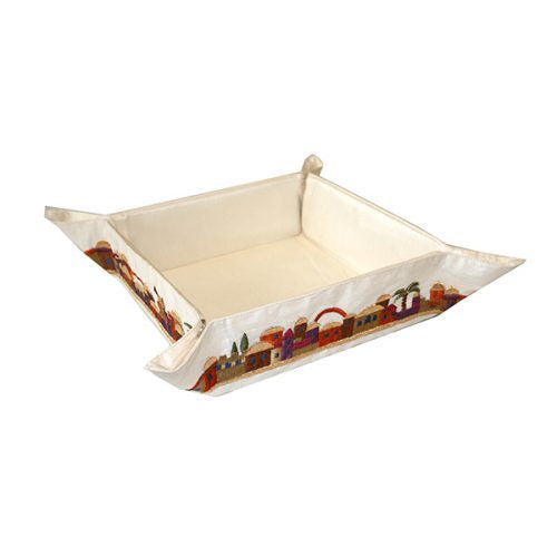 Matzah folding  tray- Multi Colour of Jerusalem