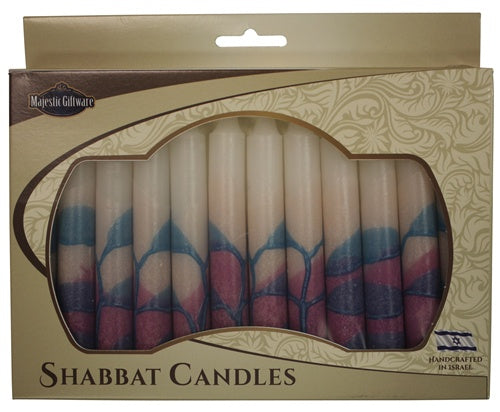 Pink Turquoise Shabbat -12 Pack