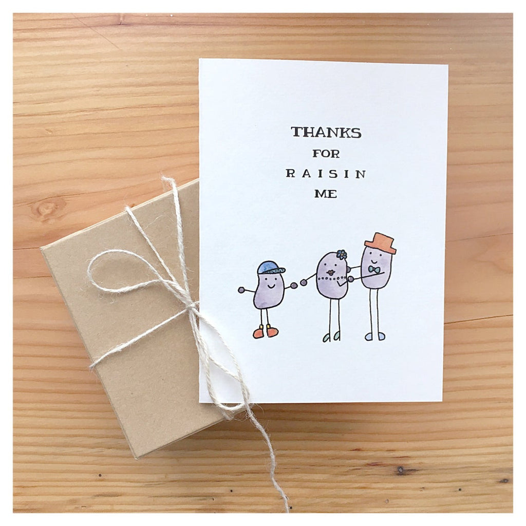 Card, Thanks for Raisin Me