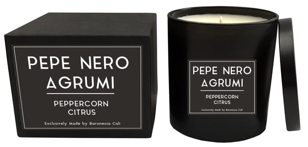 Candle, Pepe Nero