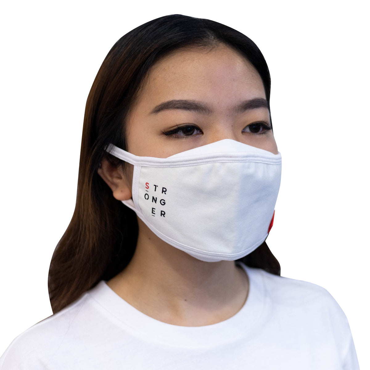 ULTRA A Anti-Bacterial Unisex Tee + 3-Ply Anti-Bacterial Mask Co-Ord Set (Stronger - Adults)