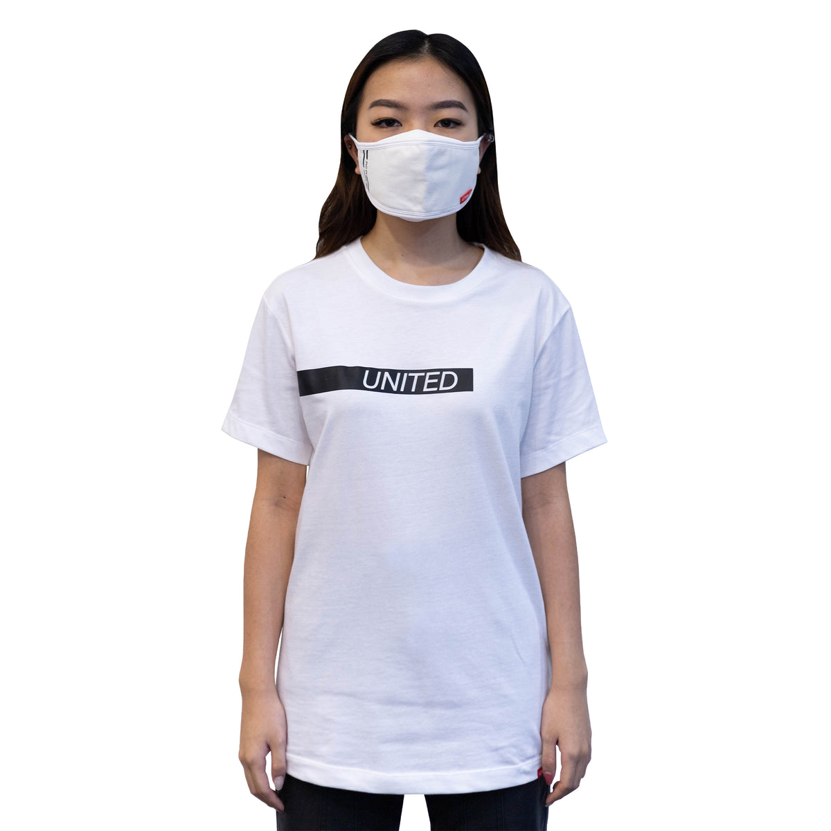 ULTRA A Anti-Bacterial Unisex Tee + 3-Ply Anti-Bacterial Mask Co-Ord Set (United Stand As One - Adults)