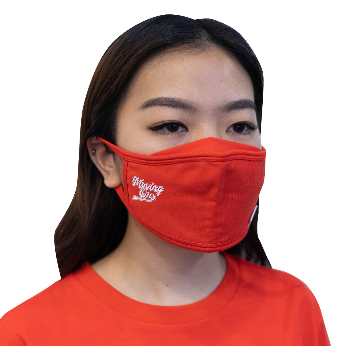 ULTRA A Anti-Bacterial Unisex Tee + 3-Ply Anti-Bacterial Mask Co-Ord Set (Moving On - Adults)
