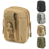 Outdoor Climbing Tactical EDC Gadget Waist Bag Military Phone Molle Pouch Bag