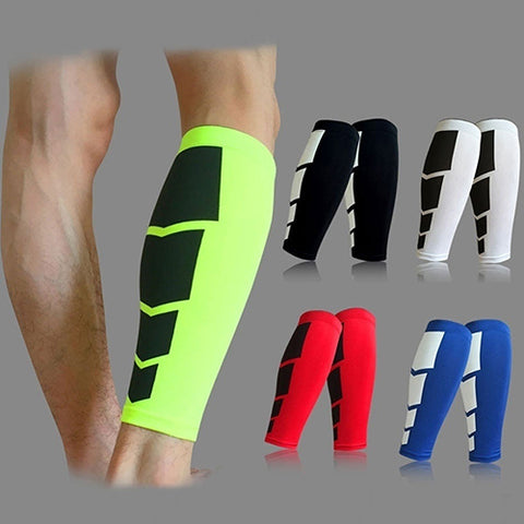 Unisex Sport Calf Brace Support Compression Exercise Running Cycling Leg Sleeve