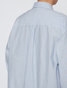 SKY STRIPE SH-2 BD BIG SHIRT