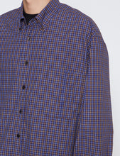 Load image into Gallery viewer, BLUE CHECK SH-2 BD BIG SHIRT