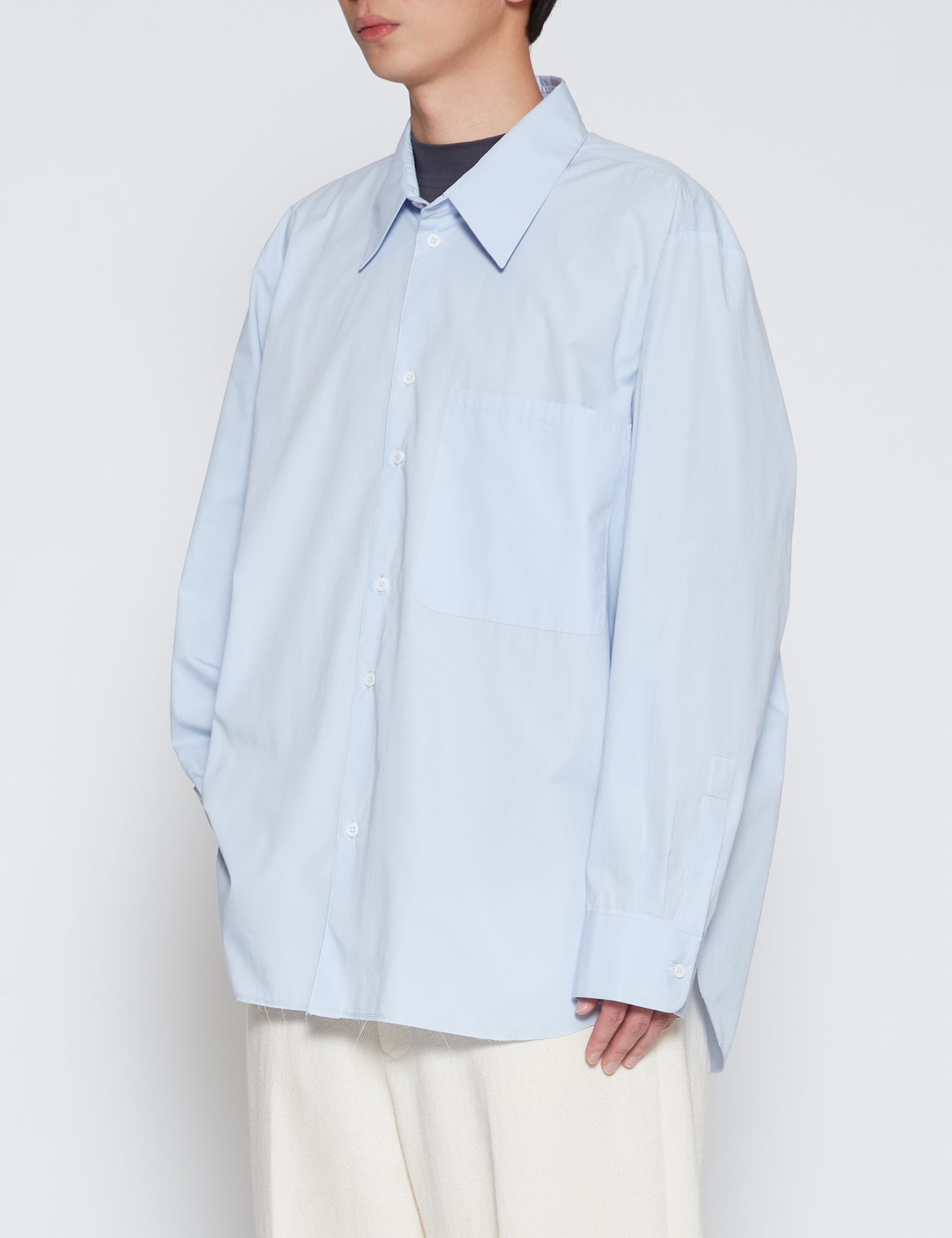 BLUE BASIC SHIRT