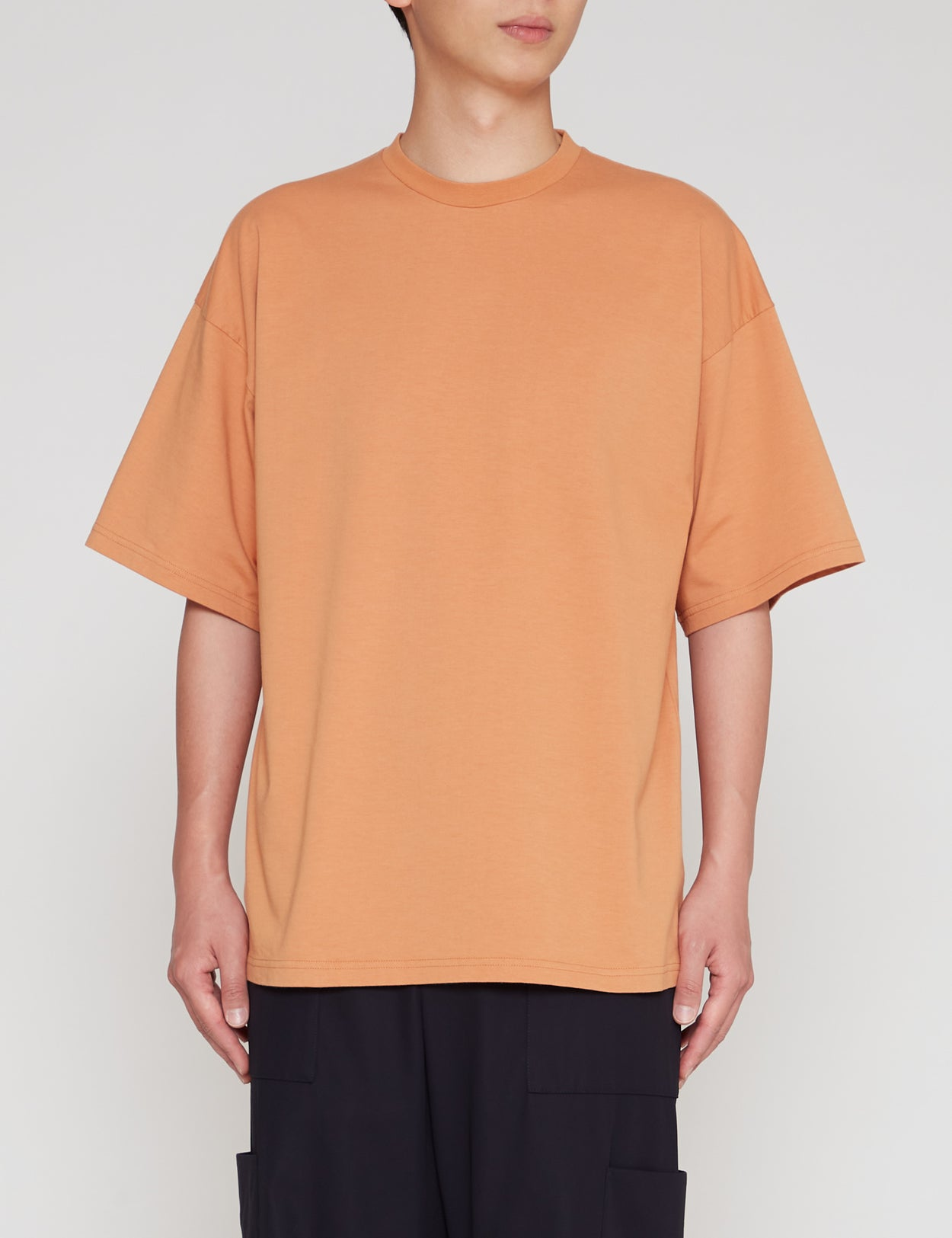 ORANGE WIDE FIT T-SHIRT