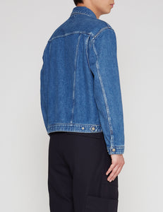 BIO BLUE 877Z DENIM TRACKER ZIP JACKET