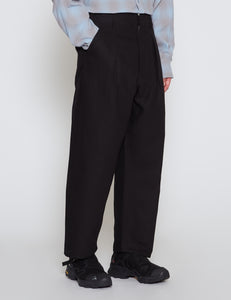 BLACK BIG PANTS