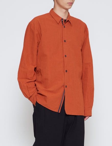 MAN-TLE ORANGE REGULAR SHIRT