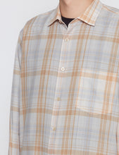 Load image into Gallery viewer, IVORY CHECKED STANDARD SHIRT