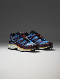 SALOMON ADVANCED BLUE AND BROWN XT-4 ADV SNEAKERS