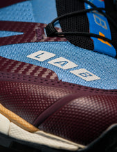 Load image into Gallery viewer, SALOMON ADVANCED BLUE AND BROWN XT-4 ADV SNEAKERS