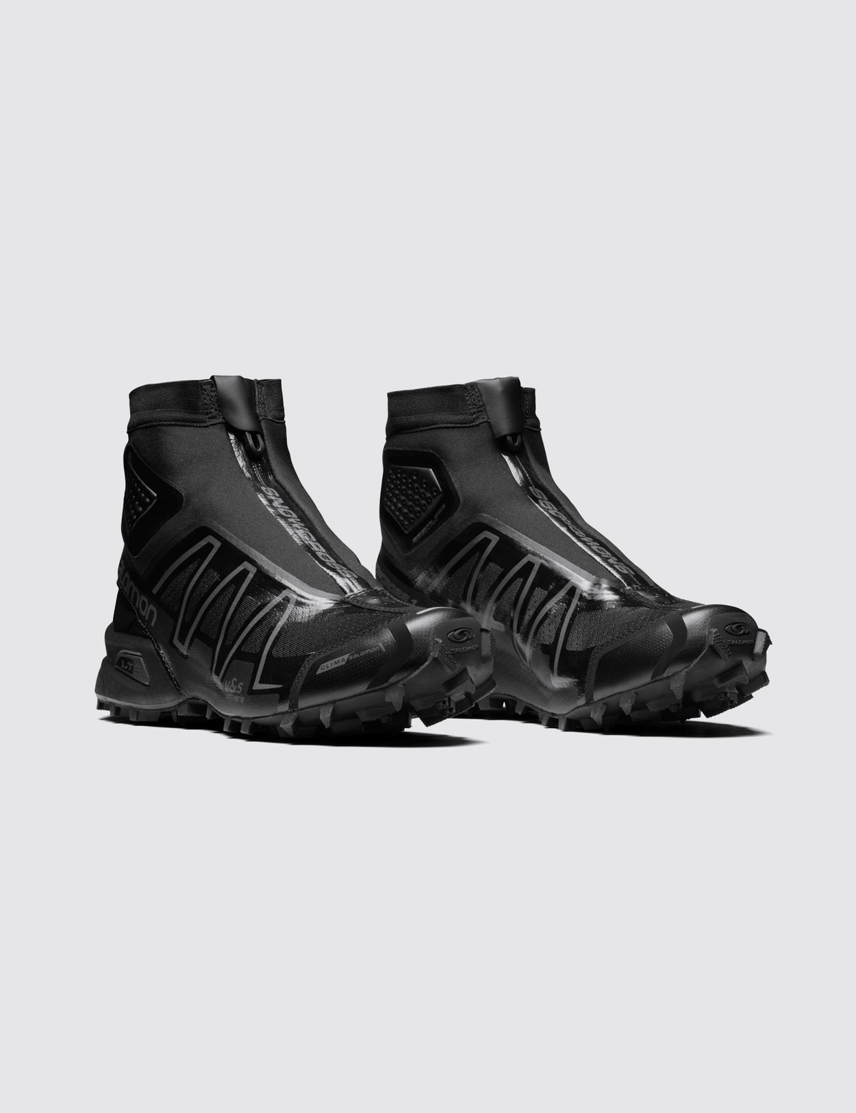 SALOMON ADVANCED BLACK SNOWCROSS ADV SNEAKERS