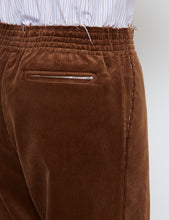 Load image into Gallery viewer, BROWN CORDUROY CU CU PANTS