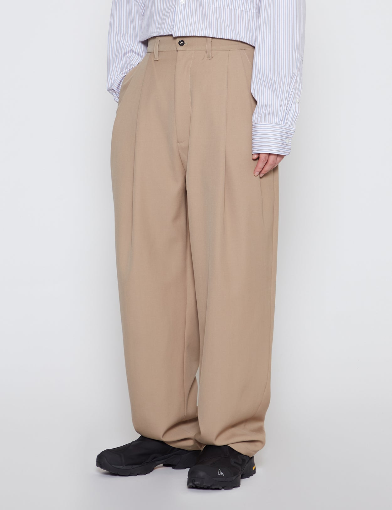 SAND CASUAL SUIT PANTS