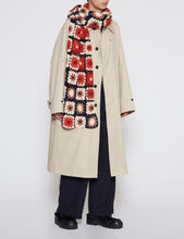 Load image into Gallery viewer, BEIGE COTTON CHINO TWILL BALMACAAN COAT