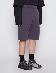 GRAPHITE CYNCH WAIST SHORTS