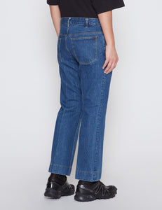 INDIGO DENIM PANTS