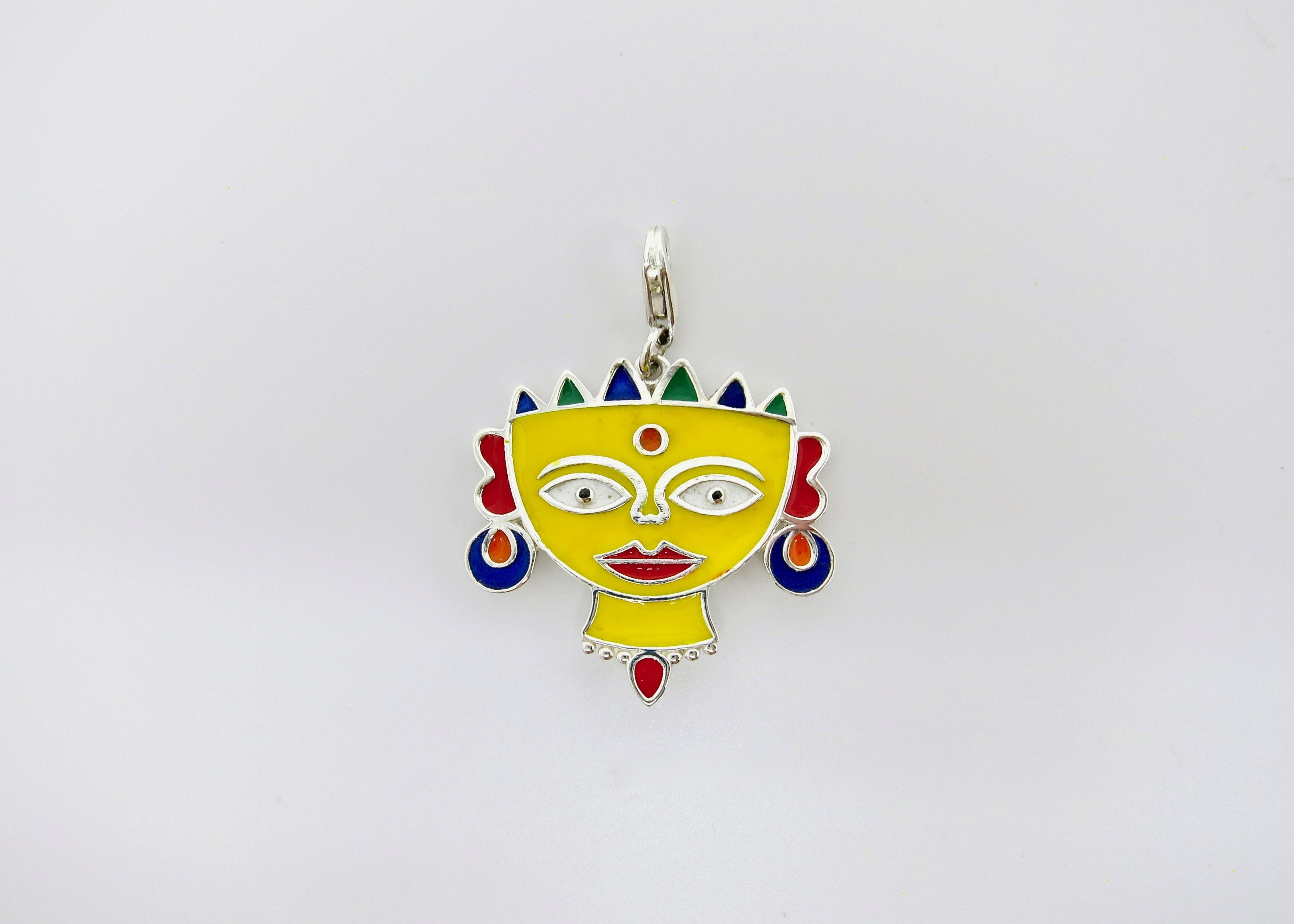 'Indian folk art' charms - Craft Stories Handmade, contemporary, personal and home accessories. Designed in California. Handcrafted in India. Traditional craftsmanship meets modern aesthetics. Sustainable design ethos, fair trade, conscious, artisanal jewelry and home decor. Objects with a story. Unique and on-trend.