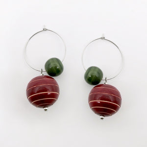 Earth and the Moon hoops (available in 3 different colors) - Craft Stories