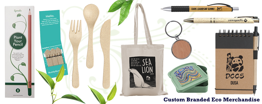 Brand Knew offers a wide range of environment friendly promotional merchandise at the best prices. Bags, pens, stationery, coffee cups, drink bottles, clothing, caps and so much more. All custom printed with your logo or design.