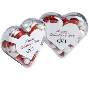 Acrylic Hearts Filled with Confectionery