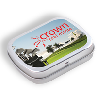 Breath Mints in Silver Tin