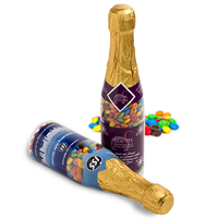 Champagne Bottle Filled with Confectionery