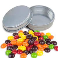 Confectionery Filled Round Tin
