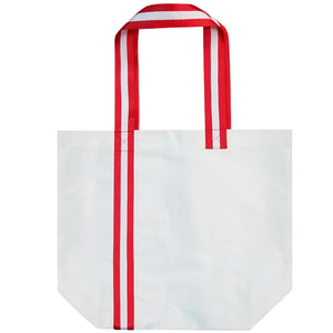 Cotton Canvas Bag with Stripes