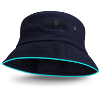 Brushed Cotton Twill Bucket Hat