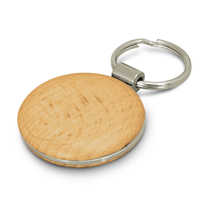 Echo Beech Wood Key Ring