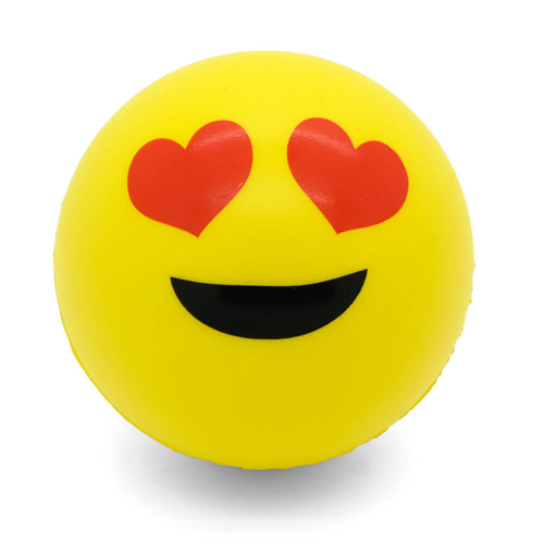 emoji stress ball fast service delivered to your door fun promo stuff