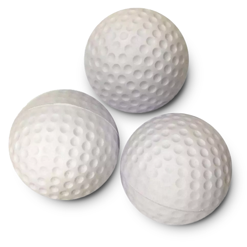 Golf Ball Stress Shape
