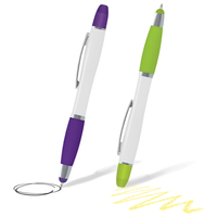 Multi Function Highlighter Pen with Stylus