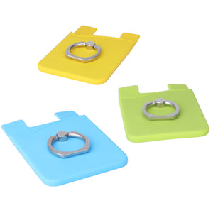 Phone Wallet With Ring