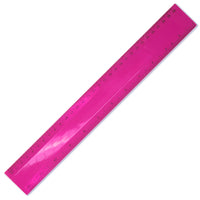 Translucent Coloured Plastic Rulers