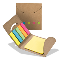Sticky Note Flags in Pocket Case