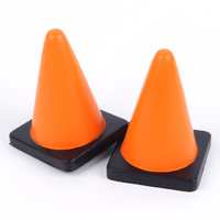 Funny stress shape reliever. Traffic cone shape. Squeeze to relieve tension and frustration. Full colour print with your logo. Express service.
