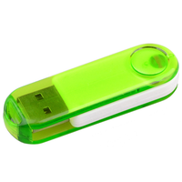 Transparent Swivel USB