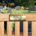 Brass Plaques for Benches, Memorial Bench Plaque - The Engraving Store