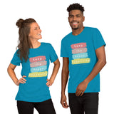 #keepthehappyhappening Short-Sleeve Unisex T-Shirt