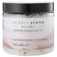 Load image into Gallery viewer, Drift Off 〰️ Sandalwood and Rose Bath Salts