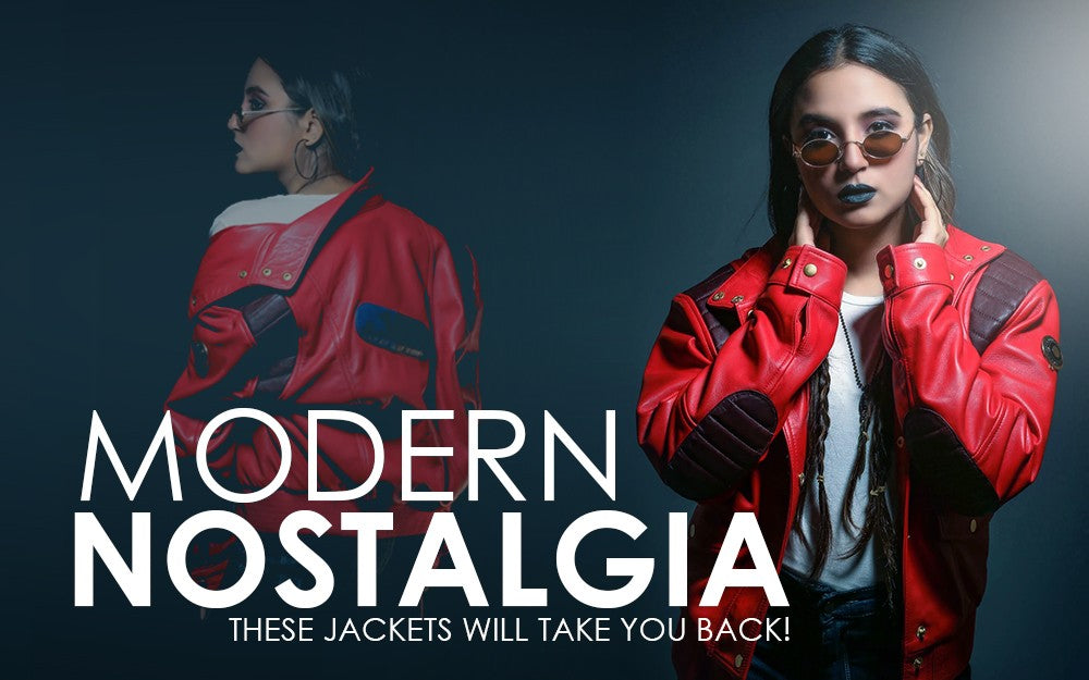 Modern Nostalgia: These Jackets Will Take You Back!